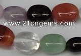 CNG28 15.5 inches 12*17mm nuggets mixed gemstone beads