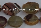 CNG2930 15.5 inches 18*25mm - 25*30mm freeform agate beads