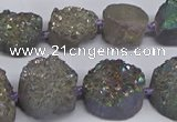 CNG2979 15.5 inches 12*16mm - 20*25mm freeform druzy agate beads