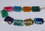 CNG3086 15.5 inches 30*40mm - 35*45mm freeform agate beads