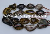 CNG3130 15.5 inches 35*40mm - 35*45mm freeform opal gemstone beads