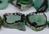 CNG3171 15.5 inches 15*20mm - 25*30mm freeform druzy agate beads
