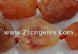 CNG433 15.5 inches 18*25mm – 32*40mm nuggets agate gemstone beads