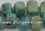 CNG5380 15.5 inches 10*14mm - 13*18mm nuggets amazonite beads