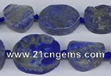 CNG5566 15.5 inches 12*16mm - 18*22mm freeform lapis lazuli beads