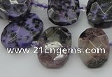CNG5697 15.5 inches 13*18mm - 15*20mm faceted freeform charoite beads