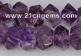 CNG5780 10*14mm - 12*16mm faceted nuggets amethyst beads