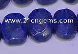 CNG6315 15.5 inches 13*18mm - 15*20mm faceted freeform lapis lazuli beads