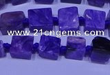 CNG7546 15.5 inches 6*8mm - 10*12mm freeform charoite beads