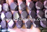 CNG7583 15.5 inches 15*20mm - 18*25mm faceted freeform hematite beads