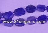 CNG7612 15.5 inches 8*9mm - 10*12mm freeform kyanite beads