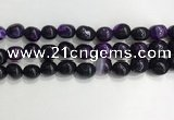 CNG8116 15.5 inches 8*12mm nuggets agate beads wholesale