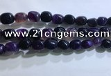 CNG8152 15.5 inches 10*14mm nuggets agate beads wholesale