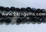 CNG8161 15.5 inches 10*14mm nuggets agate beads wholesale
