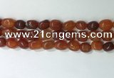 CNG8209 15.5 inches 12*16mm nuggets agate beads wholesale