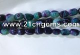 CNG8243 15.5 inches 12*16mm nuggets striped agate beads wholesale