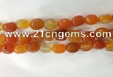 CNG8249 15.5 inches 13*18mm nuggets agate beads wholesale