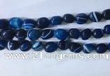 CNG8271 15.5 inches 13*18mm nuggets striped agate beads wholesale