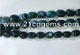 CNG8274 15.5 inches 13*18mm nuggets striped agate beads wholesale
