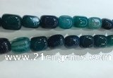 CNG8300 15.5 inches 15*20mm nuggets agate beads wholesale