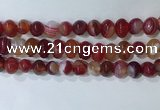 CNG8346 15.5 inches 10*12mm nuggets striped agate beads wholesale