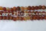 CNG8348 15.5 inches 10*12mm nuggets striped agate beads wholesale