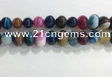 CNG8391 15.5 inches 12*16mm nuggets striped agate beads wholesale
