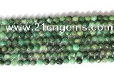 CNG9097 15.5 inches 6mm faceted nuggets African jade beads