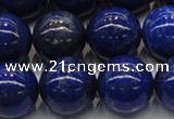 CNL1004 15.5 inches 12mm round A grade natural lapis lazuli beads