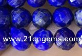 CNL1706 15.5 inches 6mm faceted round lapis lazuli beads
