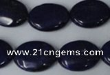 CNL484 15.5 inches 15*20mm oval natural lapis lazuli gemstone beads