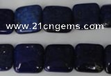 CNL513 15.5 inches 14*14mm square natural lapis lazuli gemstone beads