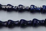 CNL631 15.5 inches 10*14mm vase-shaped natural lapis lazuli beads