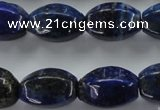 CNL637 15.5 inches 13*19mm star fruit shaped natural lapis lazuli beads