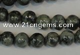 CNS401 15.5 inches 6mm round natural serpentine jasper beads