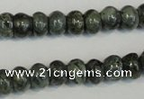 CNS410 15.5 inches 4*6mm rondelle natural serpentine jasper beads