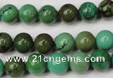 CNT353 15.5 inches 10mm round turquoise beads wholesale