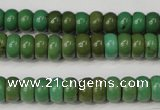 CNT365 15.5 inches 5*8mm rondelle turquoise beads wholesale