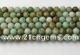 CNT417 15.5 inches 8mm round mongolian turquoise beads wholesale