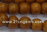 CNW04 15.5 inches 10mm round nangka wood beads wholesale
