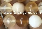 COP1458 15.5 inches 10mm round yellow opal gemstone beads