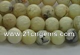 COP1461 15.5 inches 6mm round African opal gemstone beads