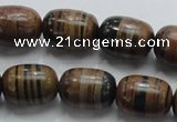 COP208 15.5 inches 13*18mm egg-shaped natural brown opal gemstone beads