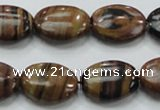 COP232 15.5 inches 15*20mm oval natural brown opal gemstone beads