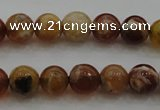 COP509 15.5 inches 6mm round natural red opal gemstone beads