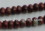 COP519 15.5 inches 6*10mm rondelle red opal gemstone beads wholesale