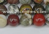 COS223 15.5 inches 10mm round ocean stone beads wholesale