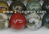COS225 15.5 inches 14mm round ocean stone beads wholesale