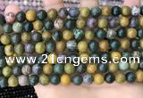 COS302 15.5 inches 8mm round ocean jasper beads wholesale