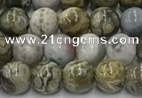 COS306 15.5 inches 6mm round ocean jasper beads wholesale